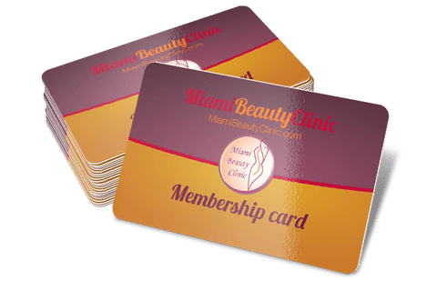 miami beauty clinic card